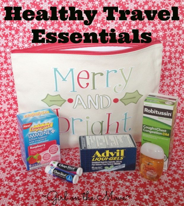 Stock up on all of the essentials for healthy travel