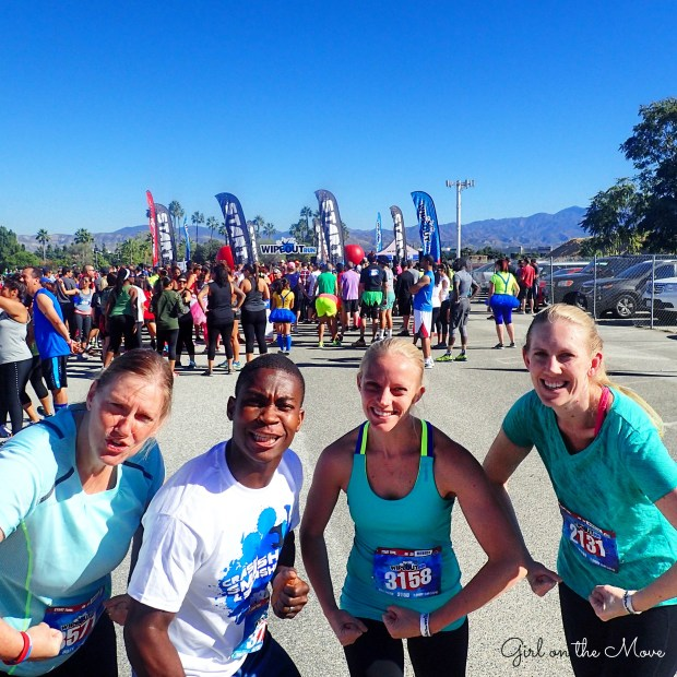 Orange County Wipeout Run 2015 with running tips for non-runners