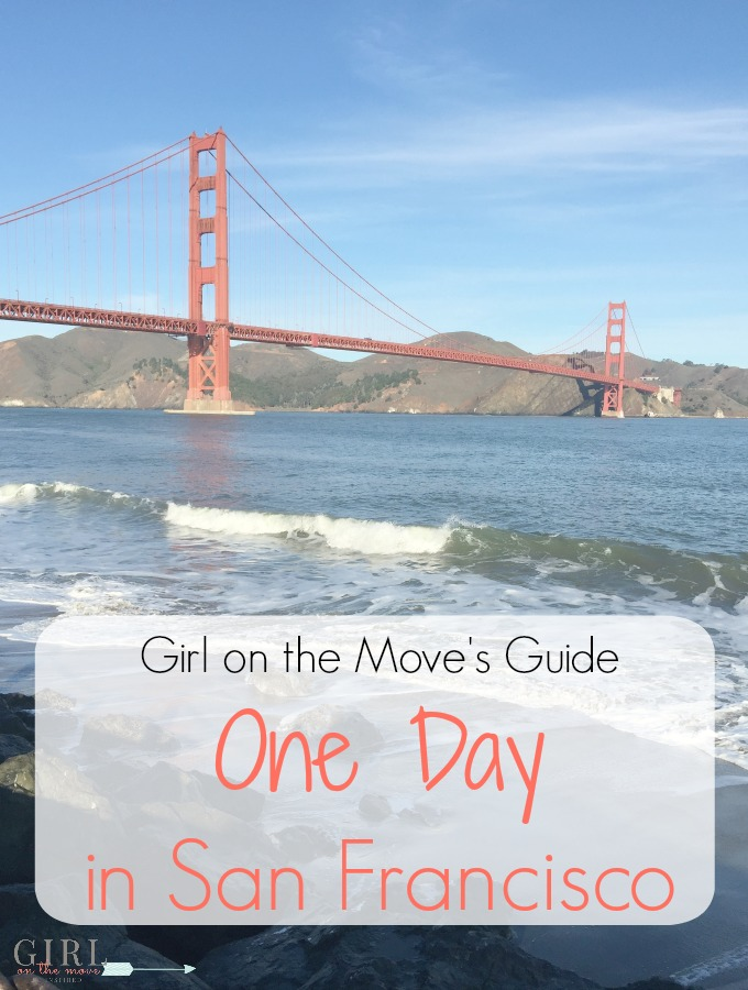 If you only have one day in San Francisco as you travel here's how to visit the must see places and things to do and get the best views of the city