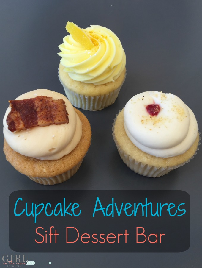 A cupcake adventure to Sift Dessert Bar! Cute cupcakes, yummy frosting shots, creative and delicious flavors...this place has it all!