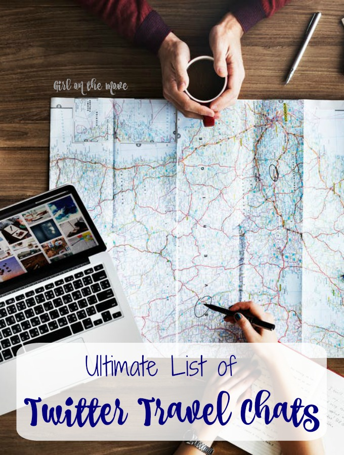 The Ultimate List of Travel Twitter chats helps you connect with other travelers, bloggers and brands through travel themed Twitter chats.