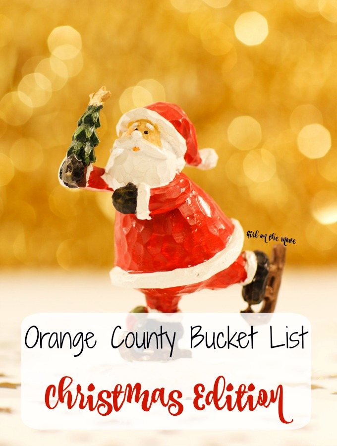 An Orange County Christmas Bucket List for the season! Boat parades, tree lightings, festivals and more ways to celebrate Christmas in Orange County