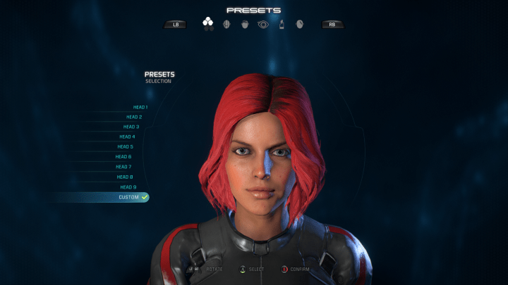 How to make an attractive sara ryder female pathfinder