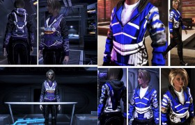 Garrus and Tali Hoodies
