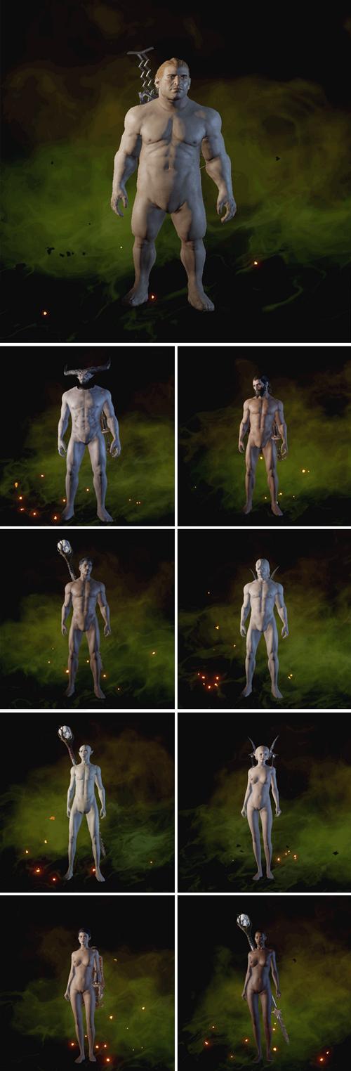 game nude Dragon age mod