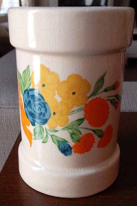 70's flower vase