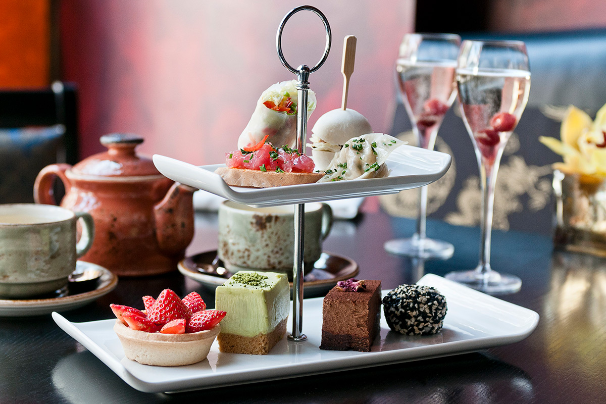 Champagne Afternoon Tea BuddhaBar London  Special Offer