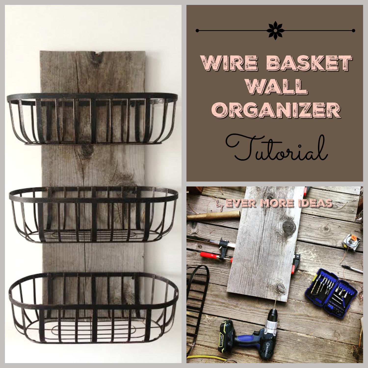 kitchen basket storage damascus steel knives wire baskets organizer diy girls build club