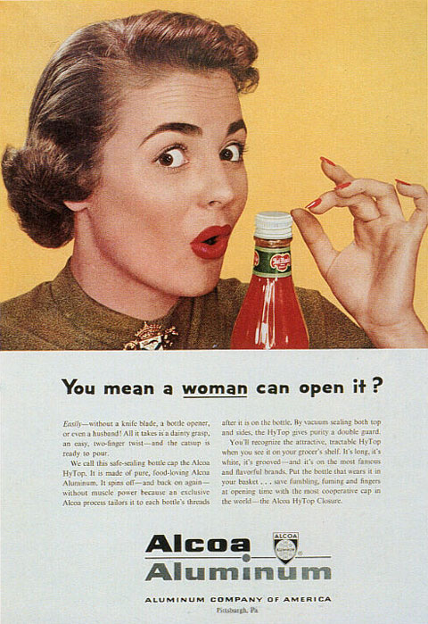 Friday Funny You mean a WOMAN can open it  Girls Cant