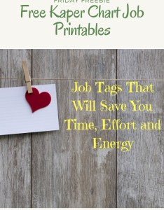 Free girl scout kaper chart job tags for leaders also friday freebie printables leader rh girlscoutleader