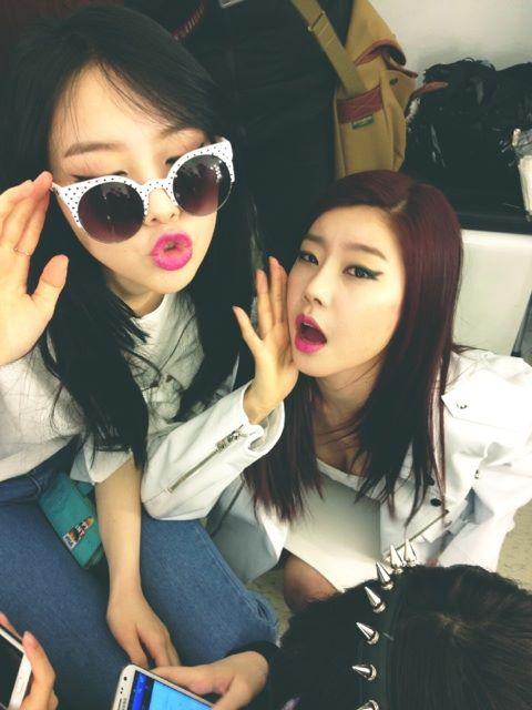 Girls Day Sojin & Minah