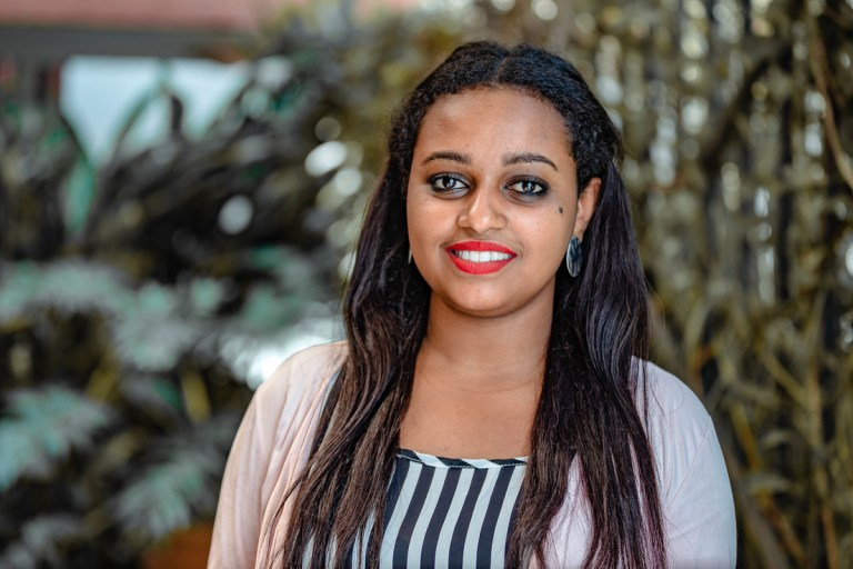 Hiwot, Amref, works against sexual violence in Ethiopia
