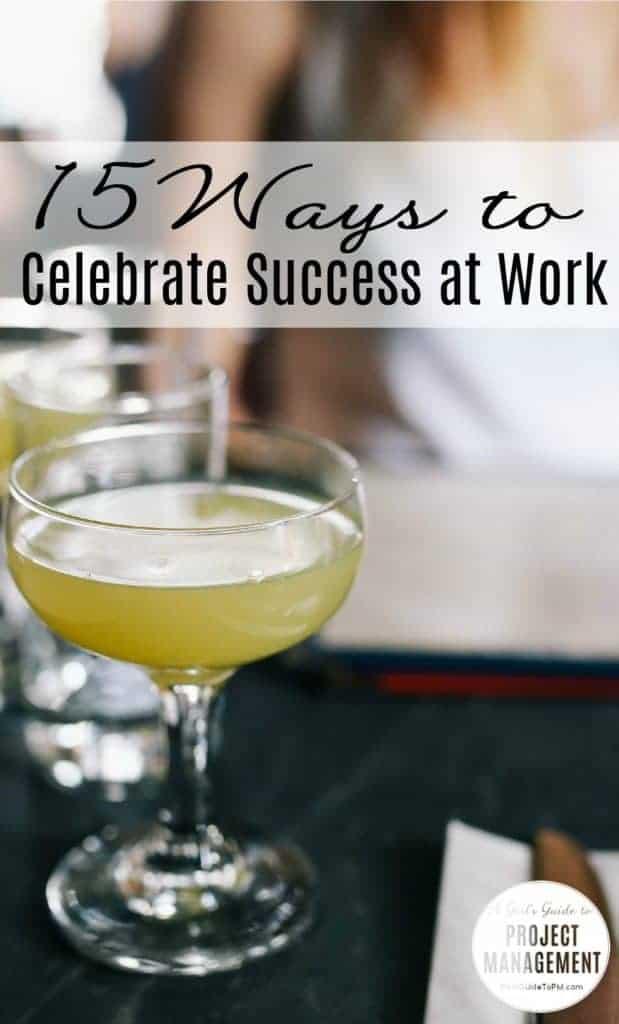 Cómo celebrar el éxito en el trabajo