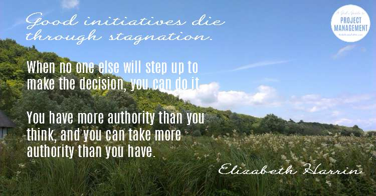 Cita de liderazgo en la toma de decisiones