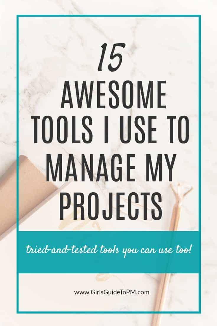 Estas fantásticas herramientas son las que utilizo para administrar mis proyectos. Con las herramientas adecuadas de gestión de proyectos, puede hacer más cosas con menos estrés #projectmanagement