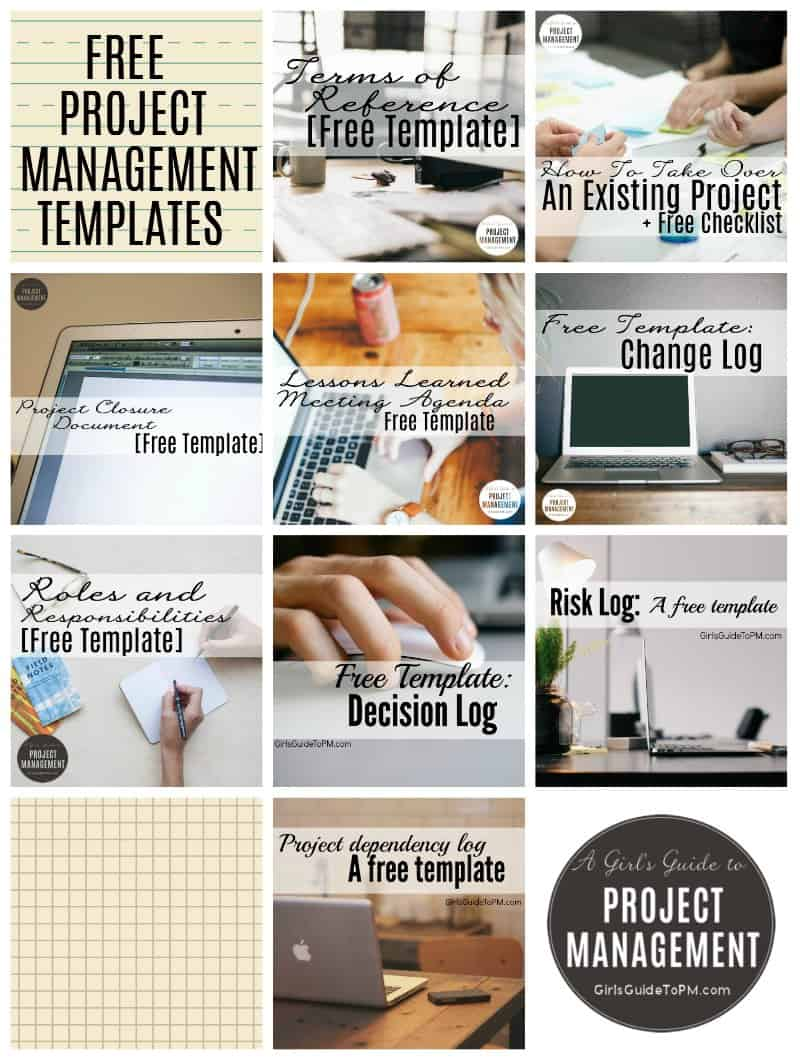 10 Free Project Management Templates • Girl's Guide To Project Management