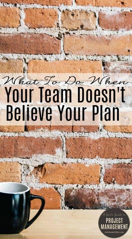 Cuando su El equipo no te cree