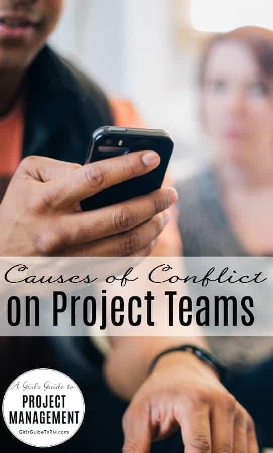 Conflictos en la administración del proyecto
