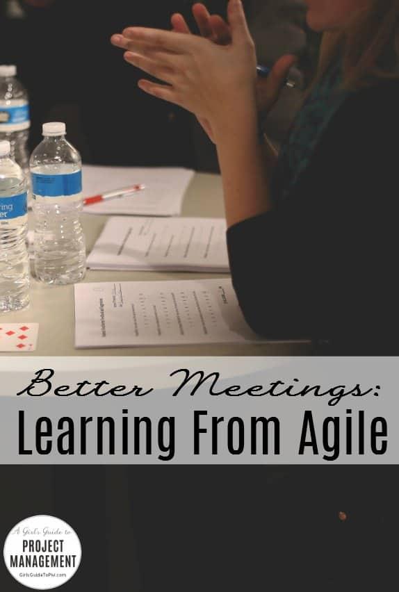 Beneficios del enfoque ágil para las reuniones