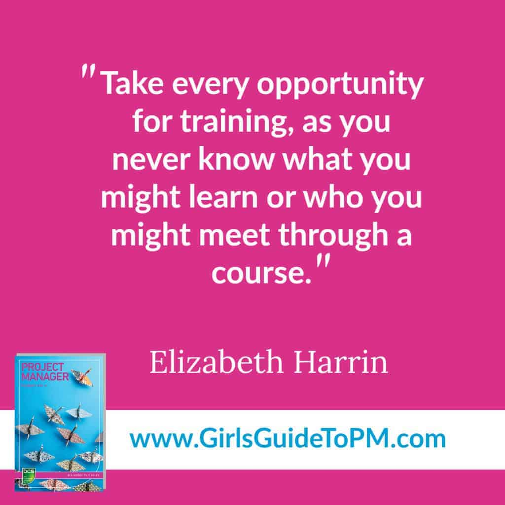 Cita de Elizabeth Harrin