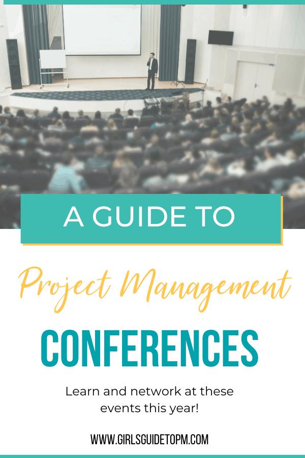Una guía para las conferencias de gestión de proyectos 2020.