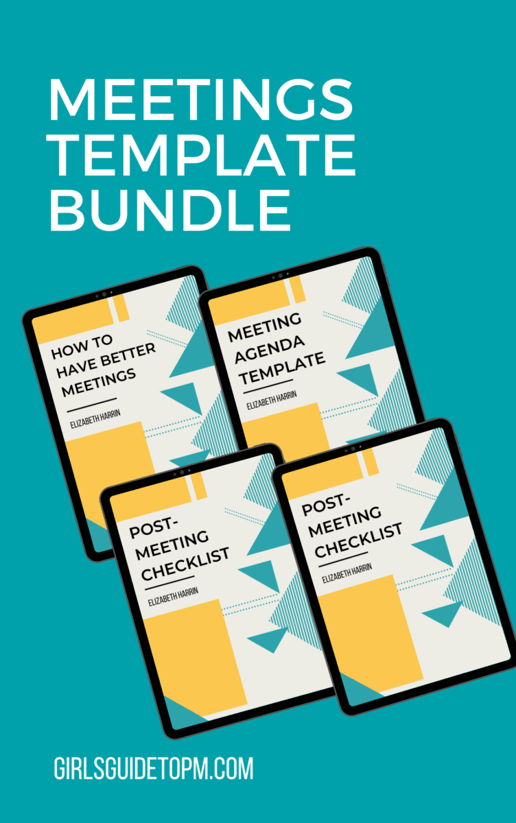 meetings template bundle advert