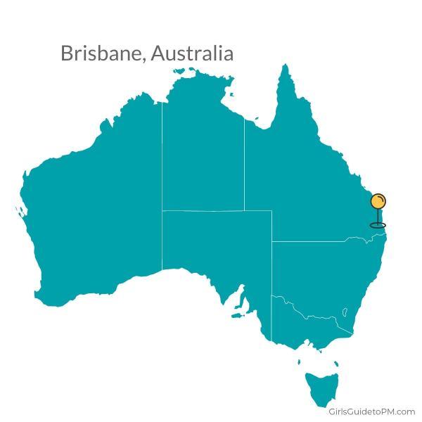 Mapa de Brisbane Australia