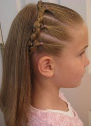 cool fun & unique kids braid design