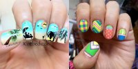 Girl Nail  Awesome Summer Nail Art Designs & Ideas For
