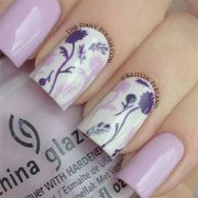 awesome spring nail art design