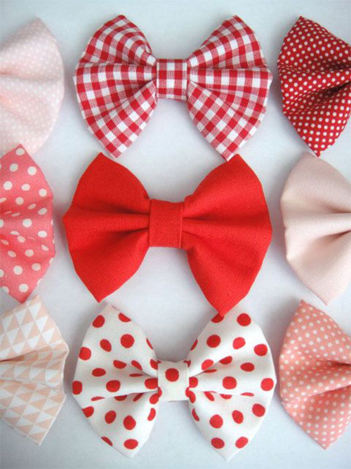 Cute Valentines Day Hair Bows For Girls 2014 Hair
