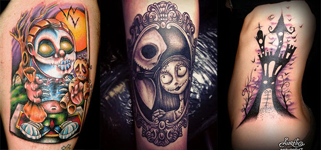 What to know before getting your first tattoo. 12 Scary Halloween Themed Temporary Tattoo Designs Ideas 2014 Girlshue