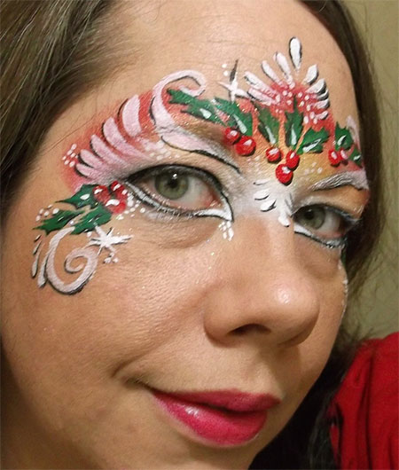12 Christmas Fantasy Make Up Ideas Looks  Designs For
