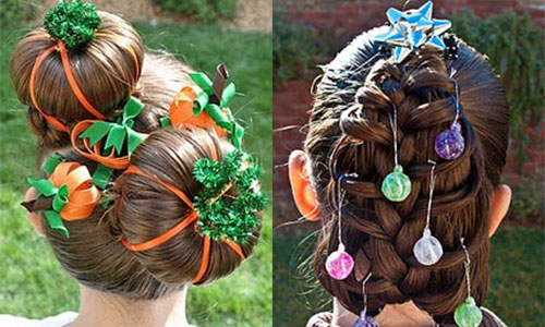 Cute Christmas Hairstyles Trends  Ideas For Girls  Women 2014  Girlshue