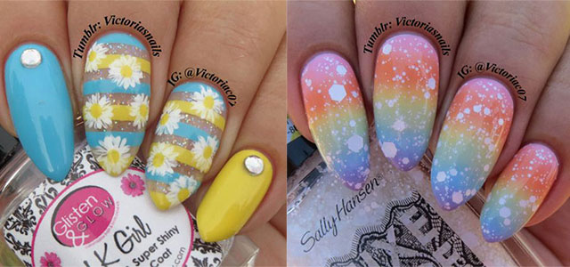 25 Best Spring Nail Art Designs Ideas Trends Stickers 2017 Shue