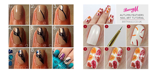 Easy Simple Step By Fall Nail Art Tutorials For Learners 2017 Shue