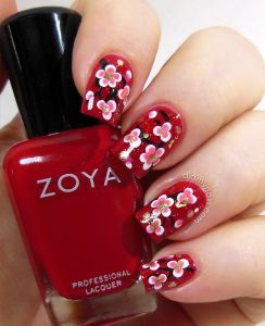 10 Ideas For Chinese New Year Nail Art 2017 Shue