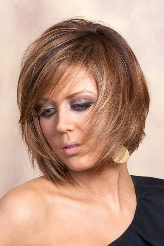 Layered Hairstyles For Medium Short Hair Fusion Hair Extensions Nyc