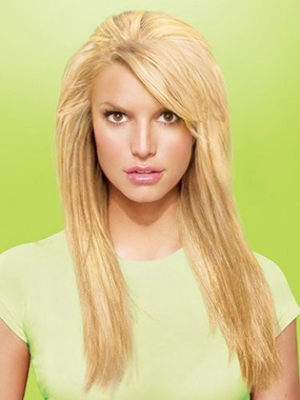 10 Pictures Of Jessica Simpson Medium  Long Hairstyles