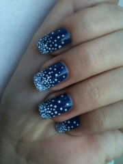 cool simple & easy winter nail