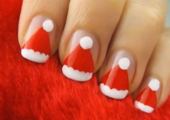 Top 15 Beauty Christmas Nail Art Design New Easy Winter Manicure Diy Ideas
