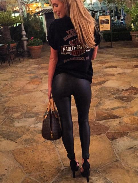 Taryn Broussard in yoga pants  workout shorts Yoga Pants