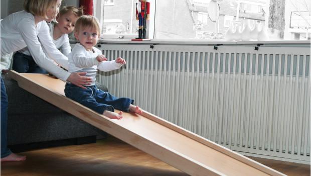 Speelplank voor in huis l Glijbaan voor in huis l GIRLSLABEL
