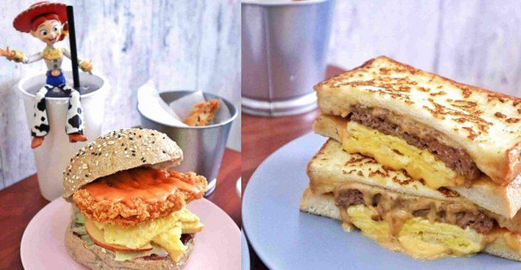 【台北行天宮】好口福早午餐:敲好吃野莓酥酥雞雜糧堡,APP點餐外帶更方便 /錦州街美食 @女子的休假計劃