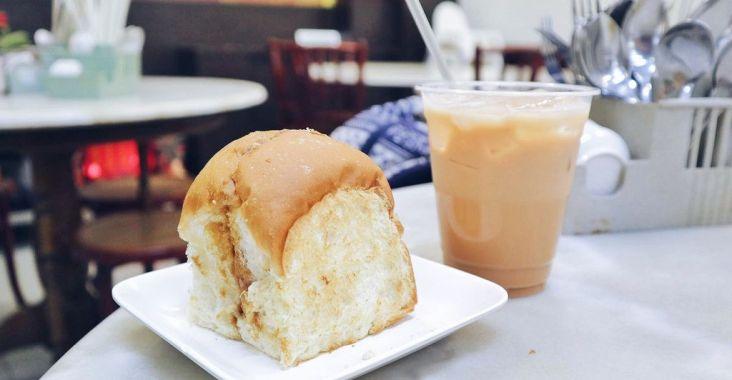 【新加坡美食】喜園咖啡 YY Kafei Dian,每日喚醒在地人的早晨是一口咖椰吐司、一杯拉茶。 @女子的休假計劃