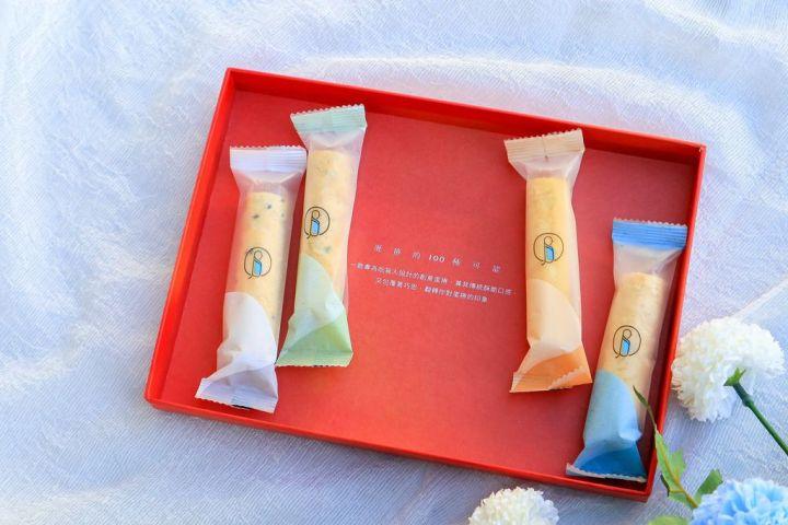 【台中人氣伴手禮】青鳥旅行:金漾春暄年節禮盒擁有蛋捲的100種可能 /2020年節禮盒 @女子的休假計劃