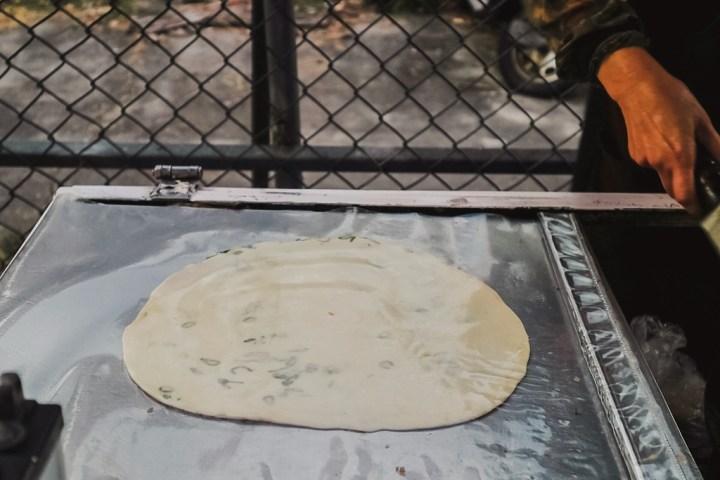 【高雄美食】馬祖蔥油餅:簡單中的不簡單,是一種很雋永的滋味永留心中。 @女子的休假計劃