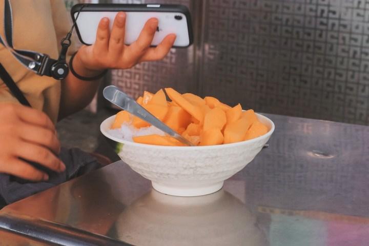 【新北冰店】土城芋頭之家:在地老牌芋頭冰,不能錯過季節限定芒果牛奶冰。 @女子的休假計劃