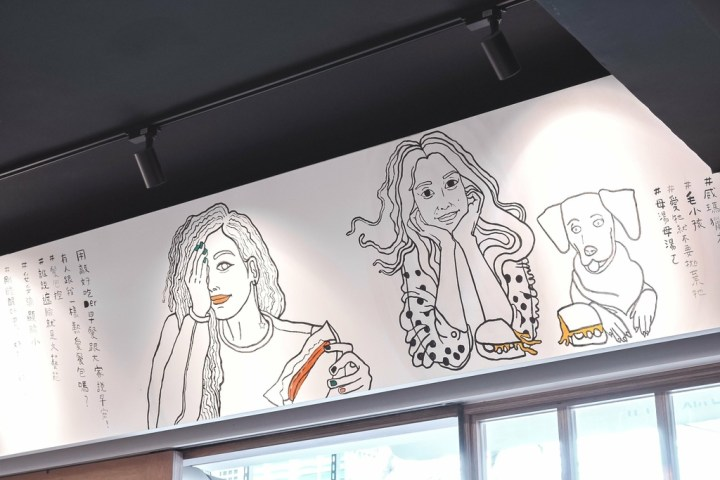 【土城早午餐】Minami光波-餐包甜點販賣所:土城巷弄內文青日式風格早午餐,手繪漫畫塗鴉速寫著簡單日常。 @女子的休假計劃