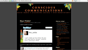 Anke's Blog